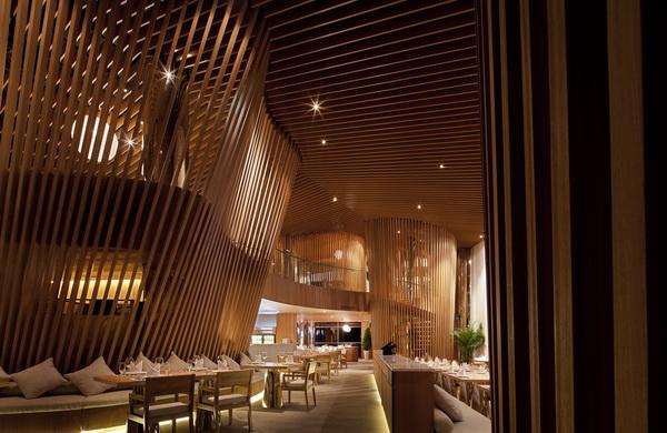 蓝玛赫西餐厅旗舰店——仲松_河南室内设计网
