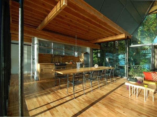 印度山间创意小木屋_河南室内设计网