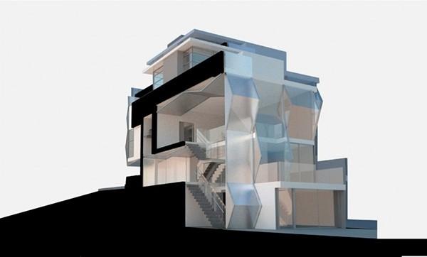 新现代主义美学 美国旧金山翻转屋设计