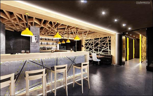 工业风盛行 乌克兰基辅beton餐厅设计