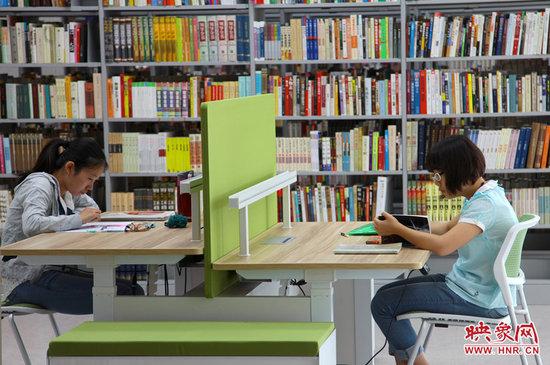 郑州市图书馆新馆_河南室内设计网