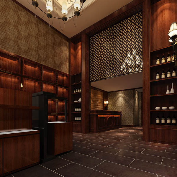 裕玛传奇红酒馆_河南室内设计网