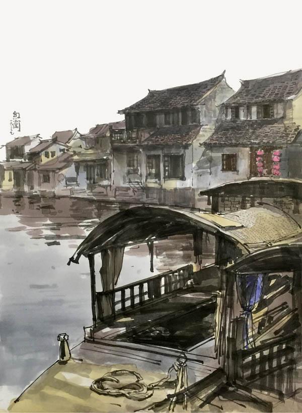 陈红卫手绘作品