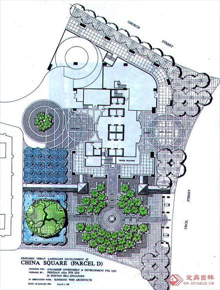 贝尔高林手绘_河南室内设计网