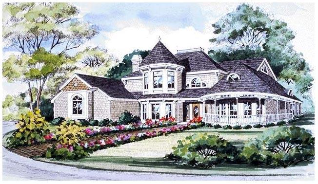 别墅手绘欣赏_河南室内设计网