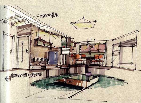 杨健手绘图欣赏