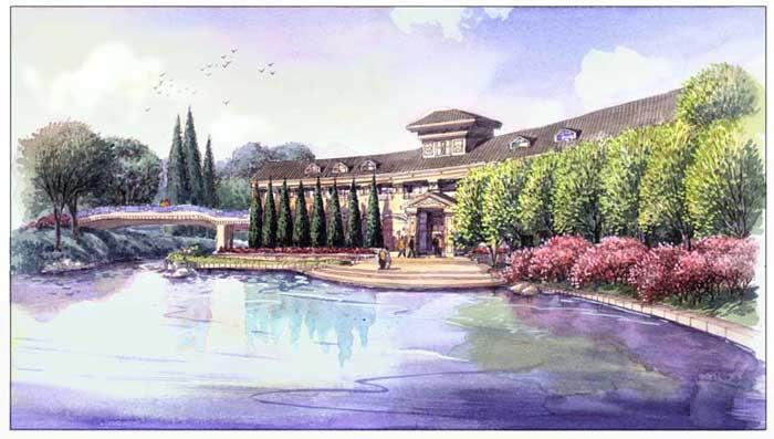 苏子:水彩手绘建筑